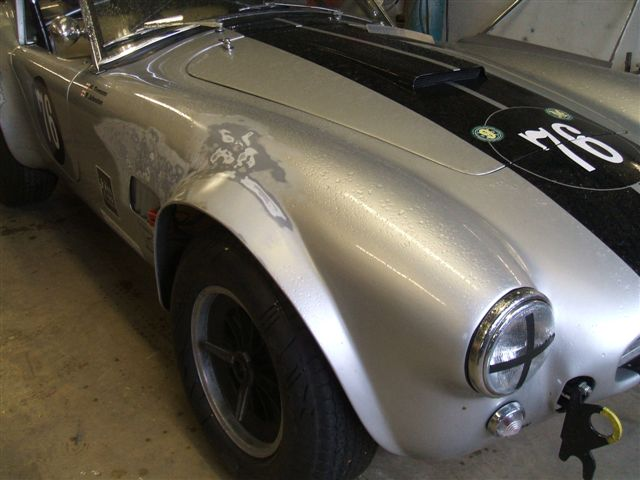 Classic and Racecar Accident Repair