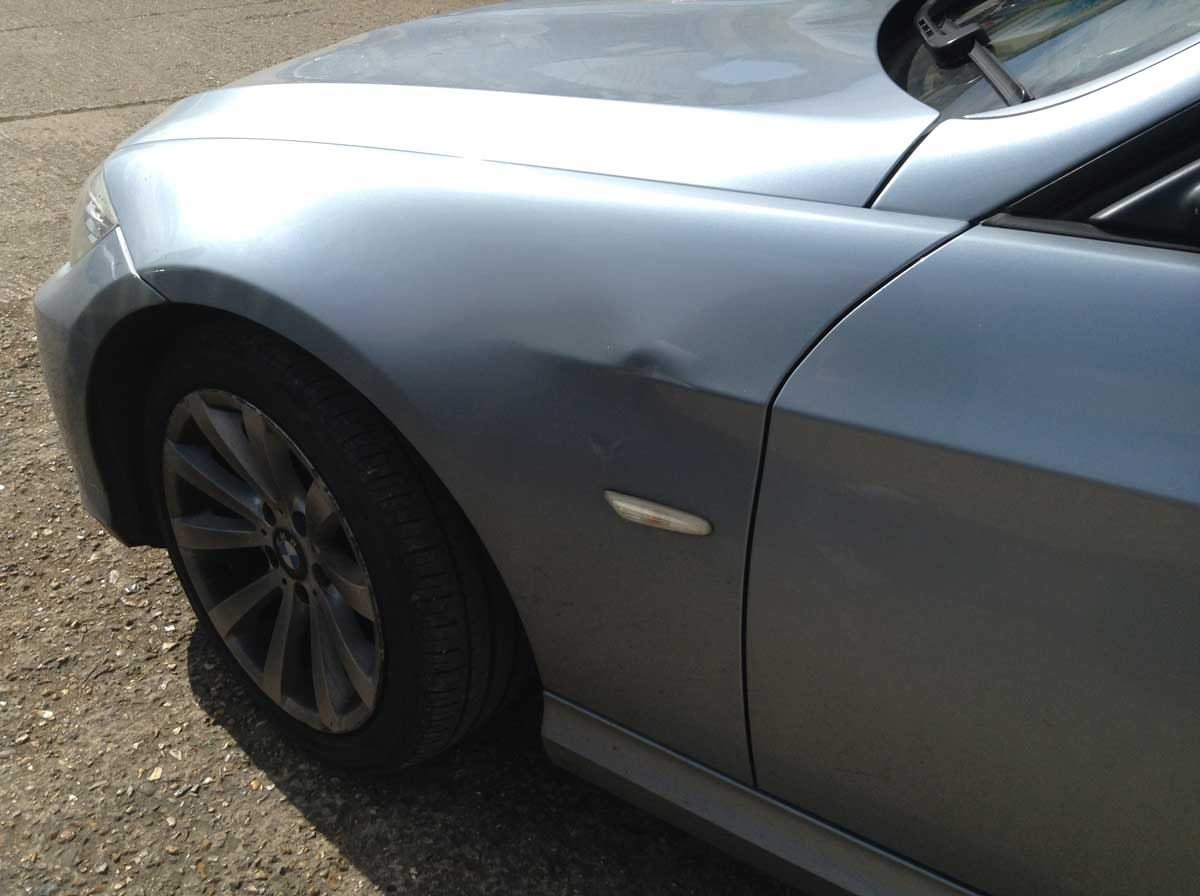 Insurance Accident Repair Job